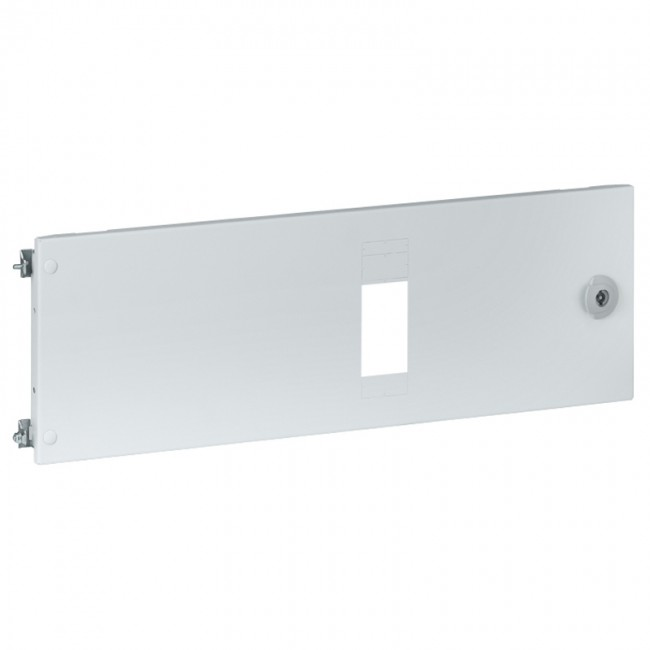 Metal Faceplates Xl³ 4000 For 1 Plug In Dpx³ Horizontal For 1