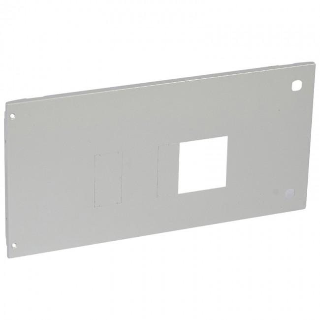 Metal Faceplate Xl³ 4000 1 Dpx 630 Plug In Horizontal Hinges
