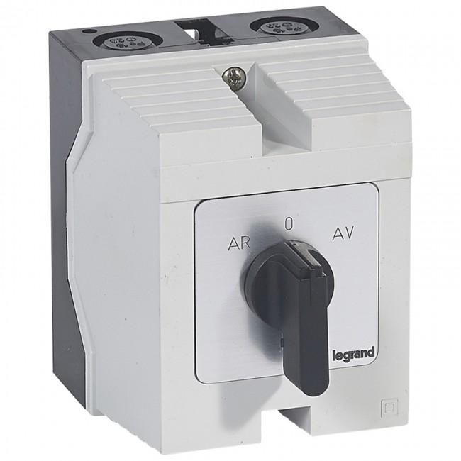 cam switch - 3-phase motor switch forward/reverse, 1 speed - pr 26 - box