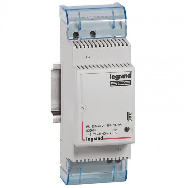 Scenario scheduler power supply - home system management BUS