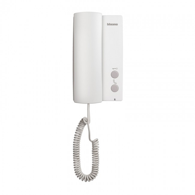 Audio Handset Additional Internal Unit For Complete One Family Audio Door Entry Kit 3 695 05 Legrand