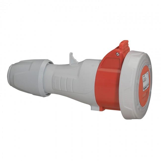 Mobile socket P17 - IP66/67 - 380/415 V~ - 32 A - 3P+E