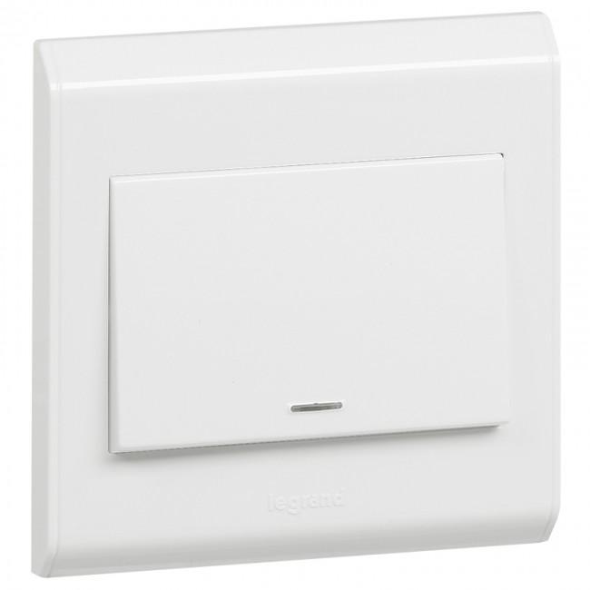 double pole switch belanko - 1 way switch + neon - 1 gang - 20 a 250 v~