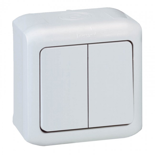 2 gang two way switch forix surface mounting 10 ax 250 v grey 2 gang two way switch forix surface mounting 10 ax 250 v grey