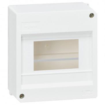 Terminal shield box - IP30 - without terminal block - 6 modules
