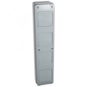Multifunction sleeve - vertical - for 3 rows cabinets