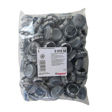 Pack of 100 Ø32 mm ISO end caps for Plexo³ cabinets
