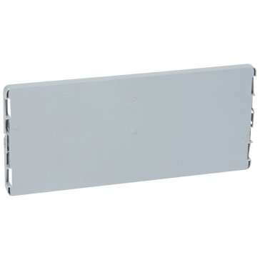Plain faceplate - for PLEXO³ cabinets - for 18 modules cabinets