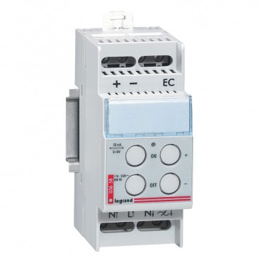 Dimmer - for fluorescent lamp with 0-10 V ballast - max. 800 VA - 2 modules