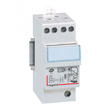 Self-protected SPD - for consumer unit - T2 - Imax 12 kA/pole - 1P+N left
