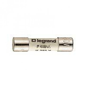 Domestic cartridge fuse - miniature type 5 x 20 - 6.3 A
