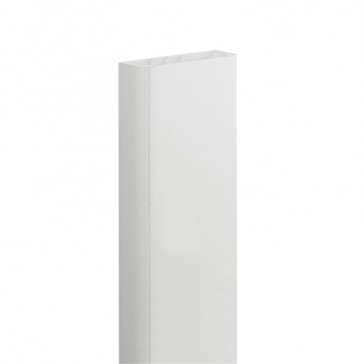 Flexible cover universal DLP trunking without partition 50 x 105 mm - 85 mm cover - 2 m