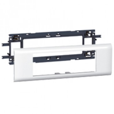 Mosaic support - for flexible cover DLP trunking cover depth 65 mm - 6 modules