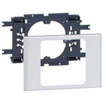 Support 60 mm fixing centres - for DLP Alu cover width 85 mm - 1 gang