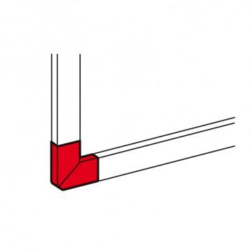 Flat angle - for aluminium adaptable DLP trunking 65x150