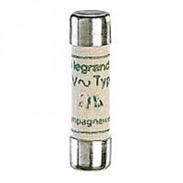 HRC cartridge fuse - cylindrical A typeM 8.5 x 31.5 - 4 A - without indicator