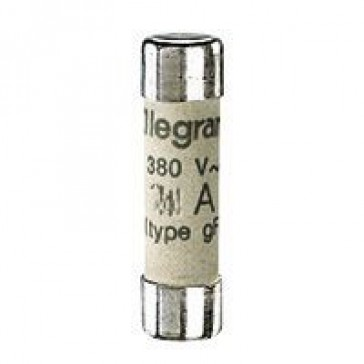 Domestic cartridge fuse - cylindrical type gG 8 x 32 - 16 A - with indicator