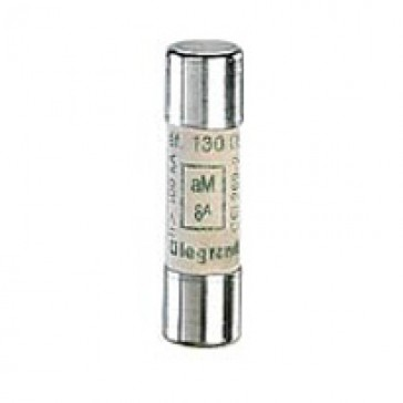 HRC cartridge fuse - cylindrical type aM 10 x 38 - 10 A - without indicator