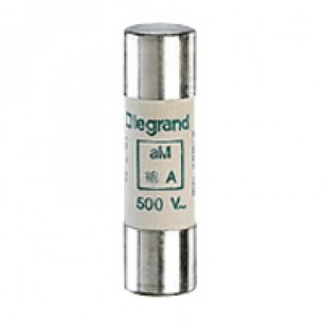 HRC cartridge fuse - cylindrical type aM 14 X 51 - 2 A - with indicator