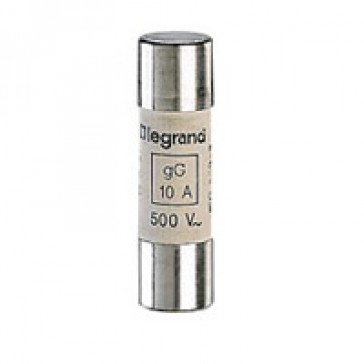 HRC cartridge fuse - cylindrical type gG 14 X 51 - 40 A - with indicator