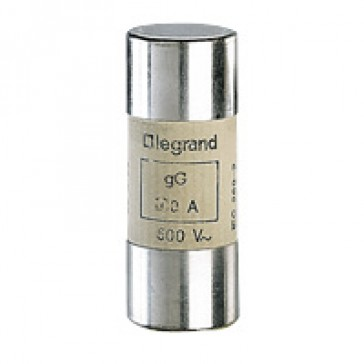 HRC cartridge fuse - cylindrical type gG 22 X 58 - 125 A - without indicator