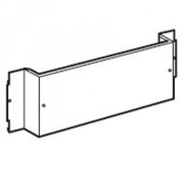 Plate XL³ 800/4000 - for 1 DPX 630 fixed - horizontal - 24 modules