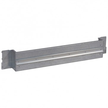 Plate with rail XL³ 800/4000 - for DPX³ in vertical position - 36 modules
