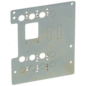 Mounting plates XL³ 4000 for 1 DPX³ 160 in transfer switch - vertical