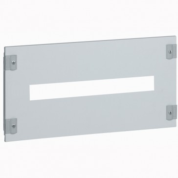Metal faceplate XL³ 800/4000 - DPX³/DPX-IS - 1/4 turn - 24 modules