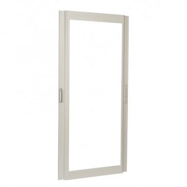 Reversible curved glass door XL³ 4000 - width 975 mm - Height 2200 mm