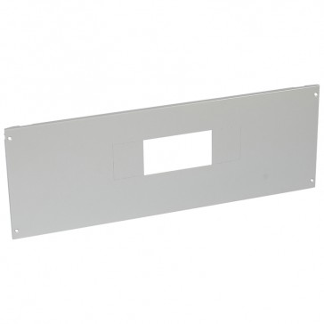 Metal faceplate XL³ 800/4000 - for DPX-IS 630 - captive screws - 36 modules