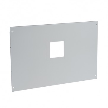 Metal faceplate for automatic transfer switch in XL³ 4000 - for 2 fixed DPX³ 1600 with motor-driven handle