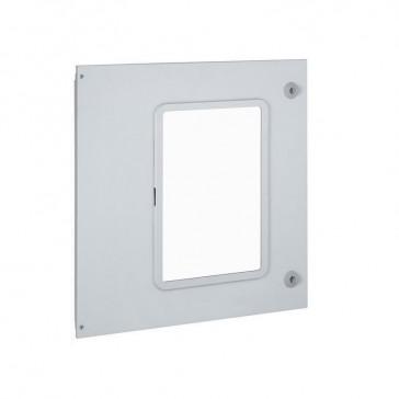 Metal faceplate XL³ 4000 - 24 modules - 1 DMX³/DMX³-I 1600 draw-out - 600 mm