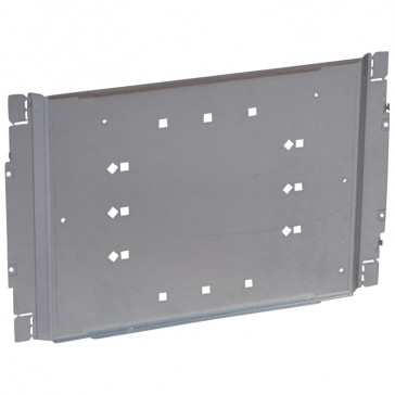 Plate XL³ 800/4000 - For 1 DPX-IS 1600 or DPX 1600 front terminals - 24 modules
