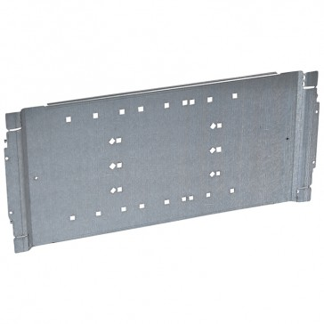 Plate XL³ 800/4000 - for 1 DPX IS 1600 or DPX 1600 front terminals - 36 modules