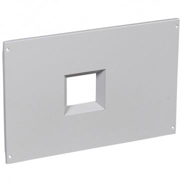 Metal faceplate XL³ 800/4000 - for DPX 1600 vertical - captive screws - 24 modules