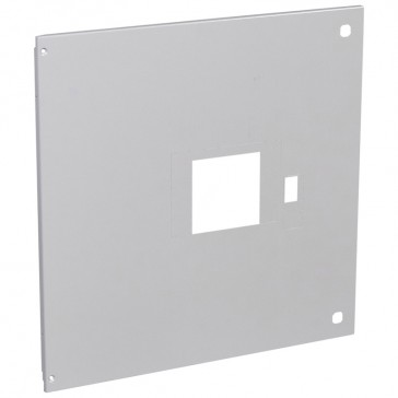 Metal faceplate XL³ 4000-DPX1600 draw out with rotary handle-vert-24 modules