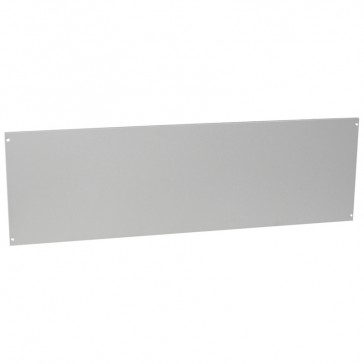 Metal solid faceplate for XL³ 6300 enclosure - H. 400 x W. 1300 mm