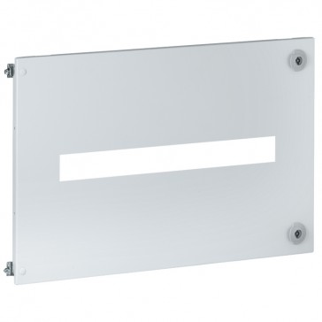 Metal faceplates-1 to 3 plug-in DPX³ with/without front motor-driven handle-vert