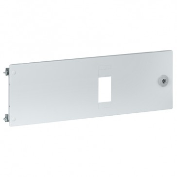 Metal faceplates XL³ 4000 for 1 plug-in DPX³ - horizontal