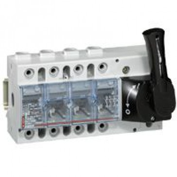 Isolating switch Vistop - 160 A - 4P - front handle, black - 9 modules