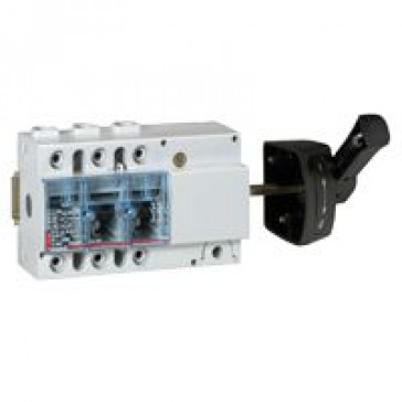Isolating switch Vistop - 160 A - 3P - side handle, black - 7.5 modules