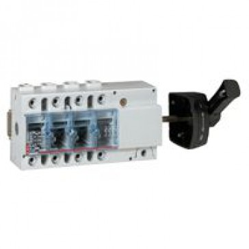 Isolating switch Vistop - 160 A - 4P - side handle, black - 9 modules