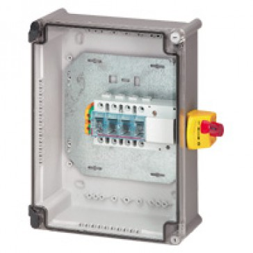 Full load switch unit with Vistop - 160 A - 4P