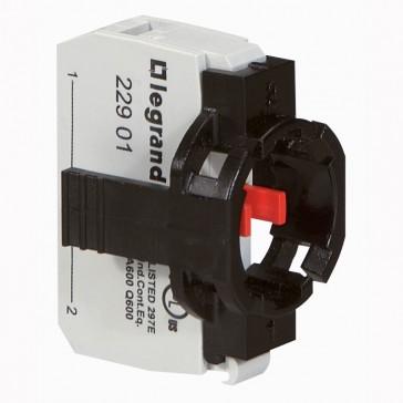 Osmoz block sub-assemblies - for non illum head - NC + 1 position clip