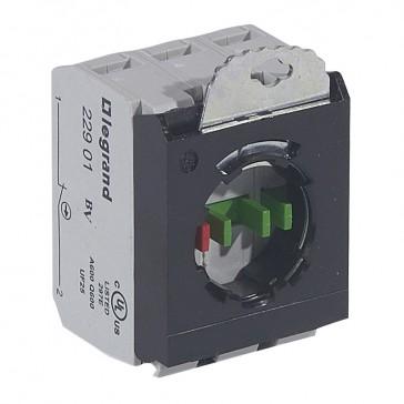Osmoz block sub-assemblies - for non illum head - 2 NO+NC + 3 position clip