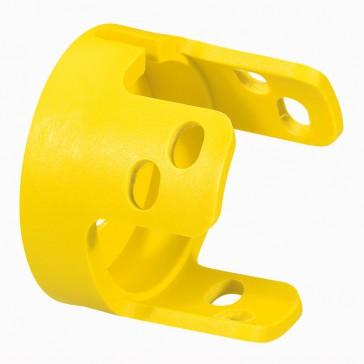 Osmoz standard padlockable guard - for mushroom head - yellow