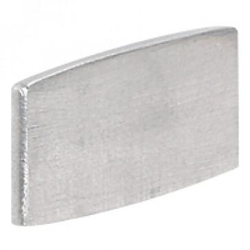 Osmoz legend plate - without engraving - alu - standard modulesl
