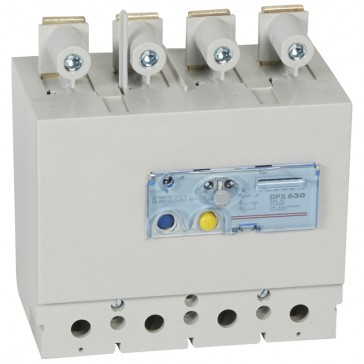 Electronic earth leakage modules - DPX/DPX-I 630 - mounted underneath -LED -4P -630 A