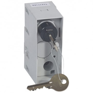 Key lock for Debro-lift mechanism - 2 keys Ronis - for DPX 1250/1600 with handle